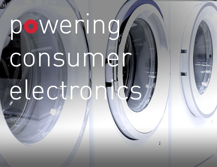 [Translate to English:] powering consumer electronics